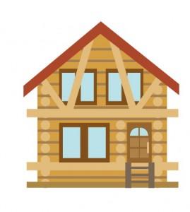 赤井屋根の家