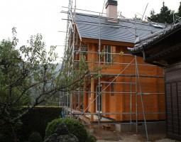 屋根工事完了2
