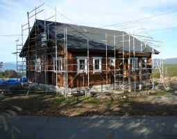 18.外部塗装と窓取付完了_1024