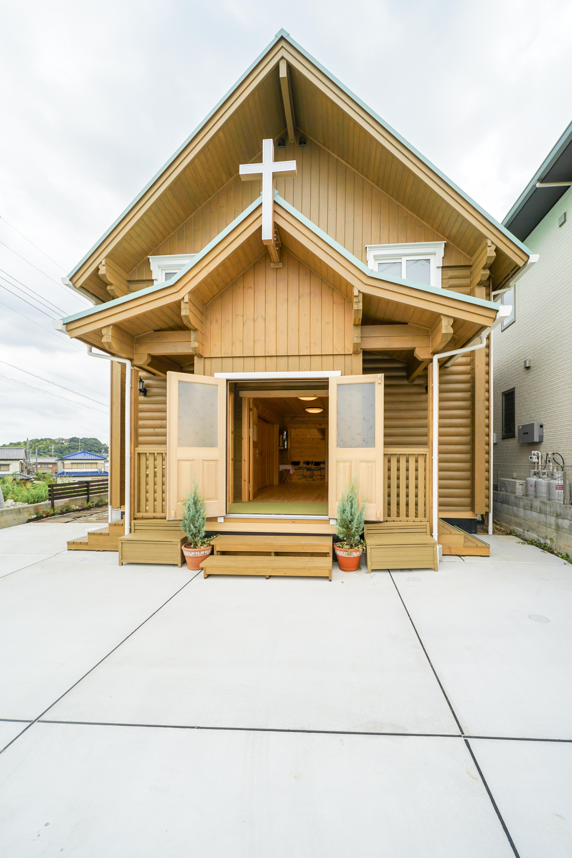 素敵な教会が完成しました!!